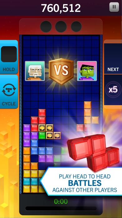 Screenshot #9 for Tetris® Blitz