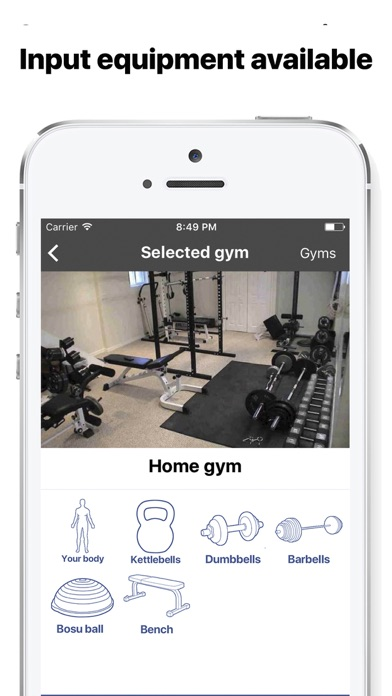 Screenshot #2 for Gymster- Workouts + IIFYM Diet