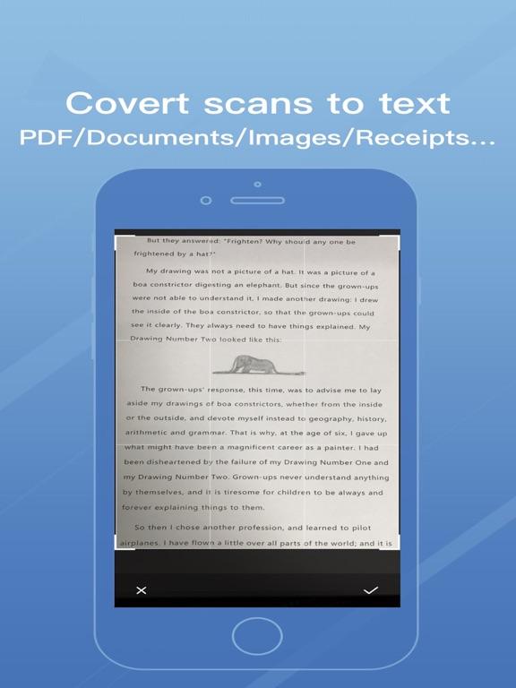 OCR Scanner -PDF Document Scan Screenshots