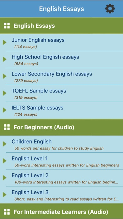 English Class Reflection Essay Iphone Screenshot  The Thesis Statement Of An Essay Must Be also High School Application Essay Sample Learn English Essays On The App Store Argumentative Essay Thesis Examples