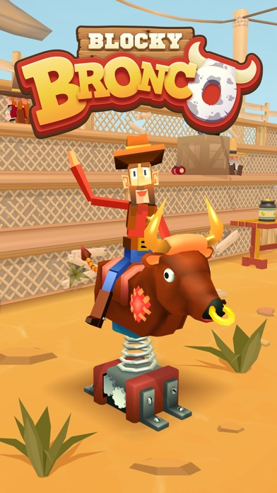 Full Fat introduces Blocky Bronco for iOS and Android - Yee-haw! Image