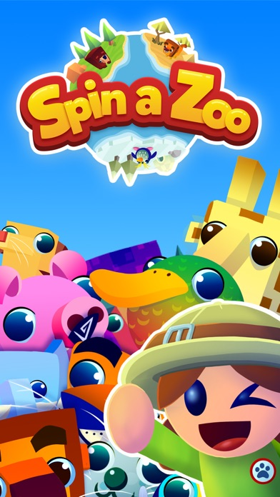 Spin a Zoo for iOS/Android - Build a Zoo filled with Adorable Animals Image