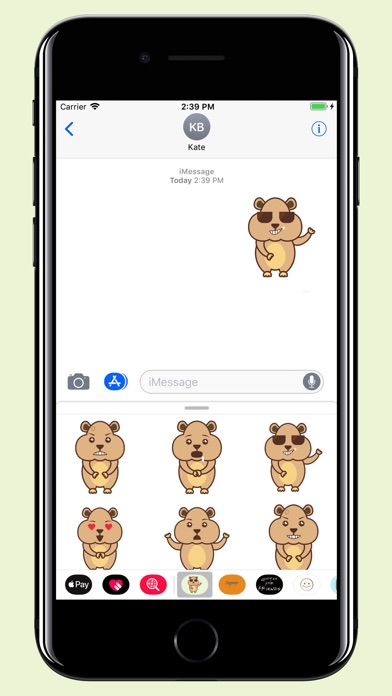 download Hamster - Cute pet stickers apps 0