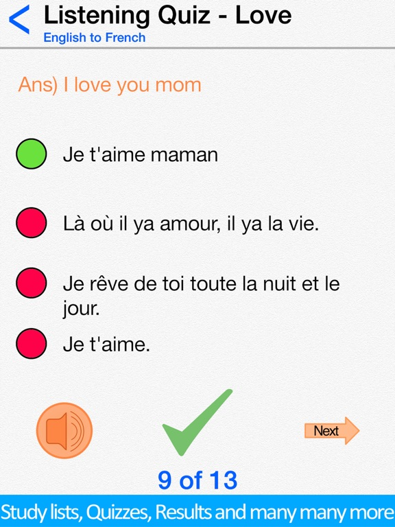 Learn French for Beginners ! Screenshots