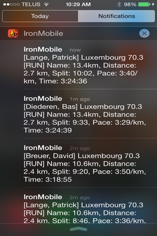 IronMobile - Ironman Tracker screenshot 2