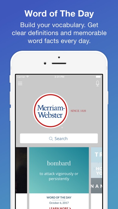 download Merriam-Webster Dictionary apps 1