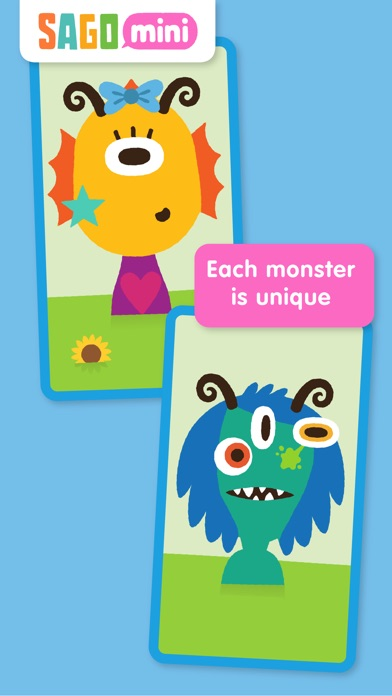 Sago Mini Monsters Screenshots