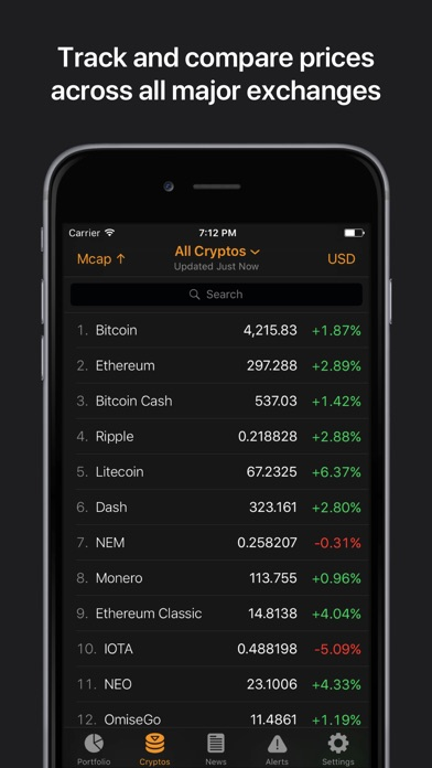 download Crypto Pro: Bitcoin Ticker apps 0
