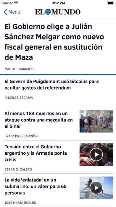 download El Mundo - Diario online apps 0