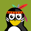 download Penguins in Costume Stickers