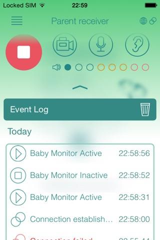 Baby Monitor Duo (VoIP) screenshot 4