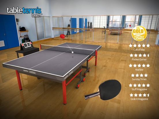 Table Tennis Touch на iPad