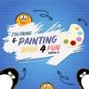 Coloring & Paiting Book 4 Fun