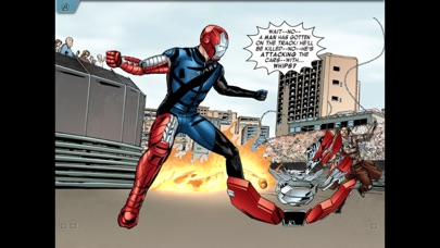 Screenshots of MARVEL'S THE AVENGERS: IRON MAN – MARK VII for iPhone