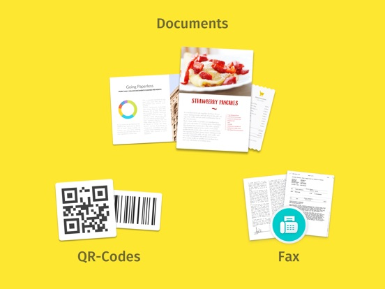 Scanner for Document, Send Fax Screenshots