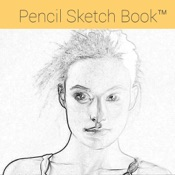 Pencil Sketch Book - Convert your photos into more attractive drawings and send REAL POSTCARDS !