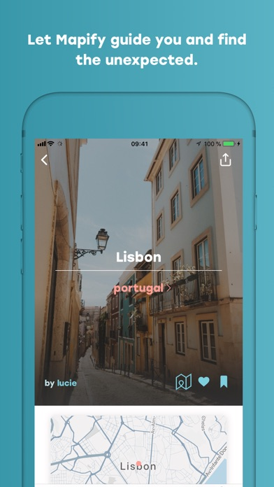 Screenshot of Mapify - Your Travel Companion App