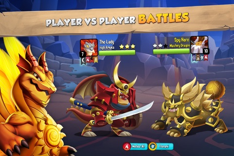 Dragon City Mobile screenshot 1