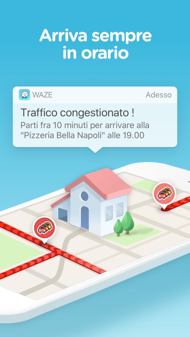 Waze - GPS e traffico Screenshot