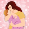 Happy Mother Day Mom emoji app for iPhone/iPad