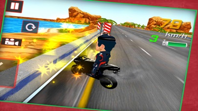 Insane Moto Bike Race screenshot 2