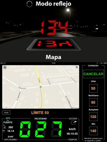 Speedometer 55 Start. GPS Box. screenshot 2