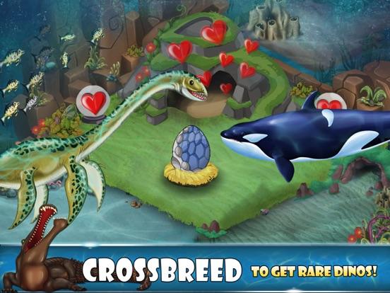 Скачать игру Dino Water World-Jurassic game