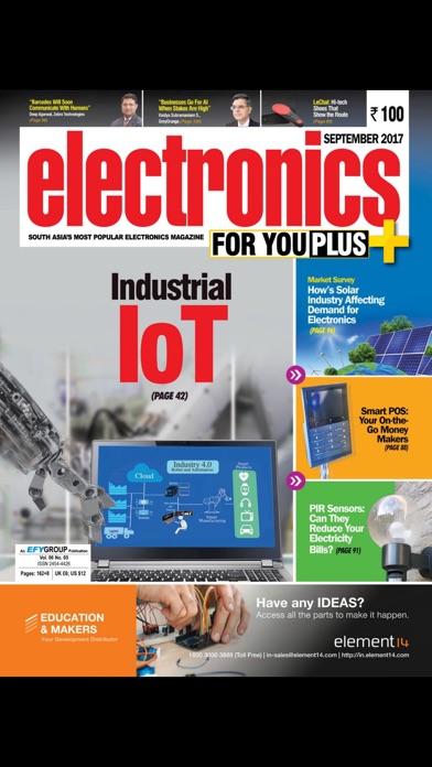 Electronics For You review screenshots