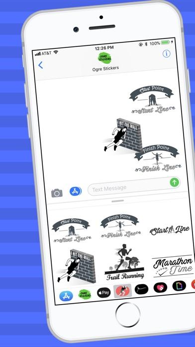 download Runner Stickers apps 0