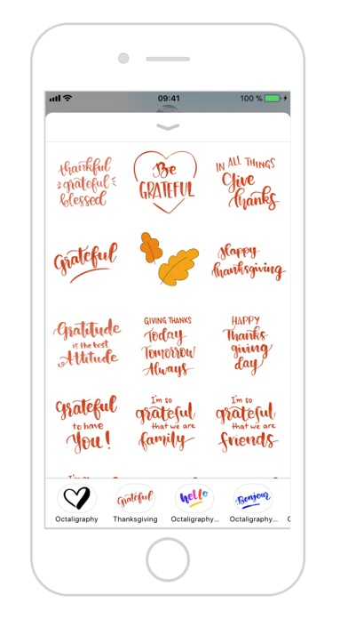 Thanksgiving Calligraphy review screenshots