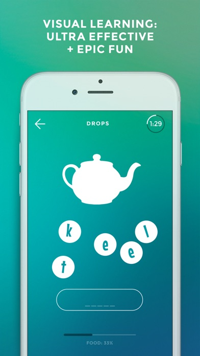 Drops: Learn 21 new languages Screenshots