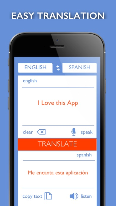 Translate - Text & Voice screenshot 1