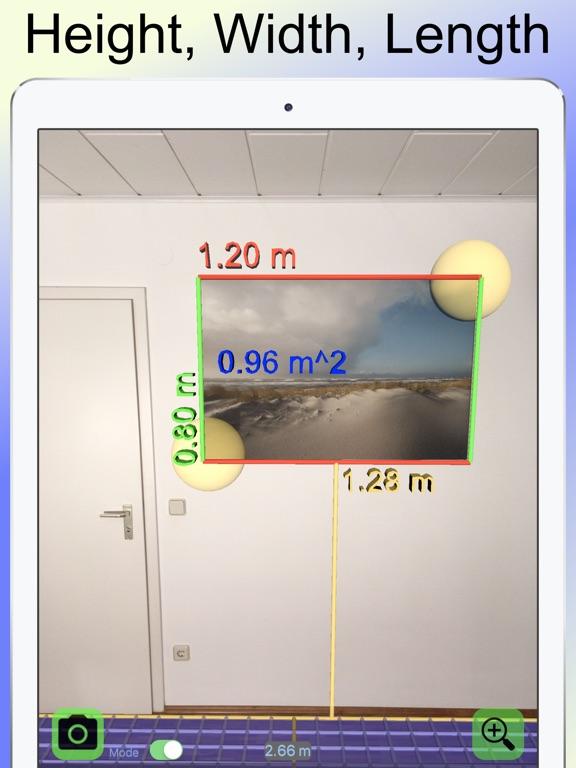 Camera Tape Measure Ruler 3D Screenshot