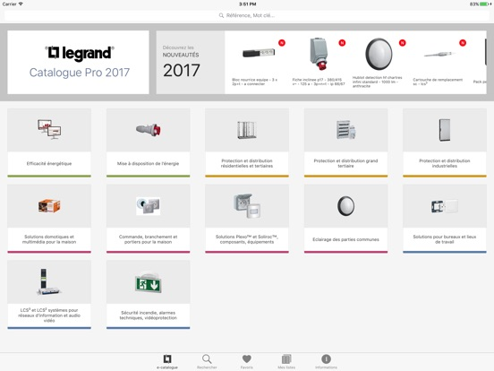 Catalogue Legrand Pro Скриншоты7