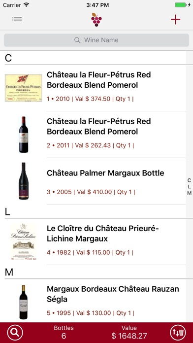 Wine Cellar Database Скриншоты3