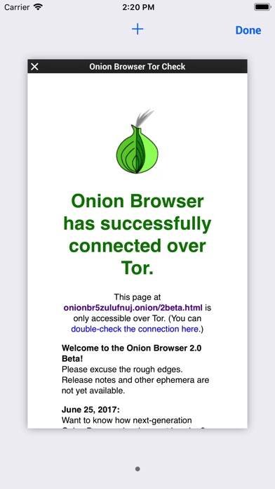 Screenshot #8 for Onion Browser