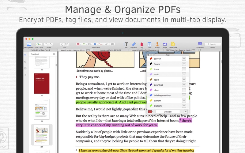 Screenshot #3 for PDF Reader Premium – Edit, Sign and Convert PDFs