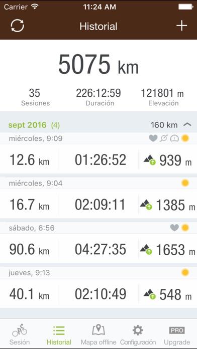 download Runtastic Mountain Bike: Bici apps 1