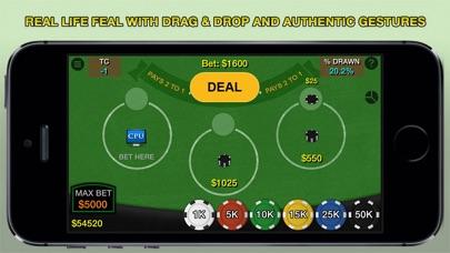Blackjack 21 Pro Multi-Hand screenshot two