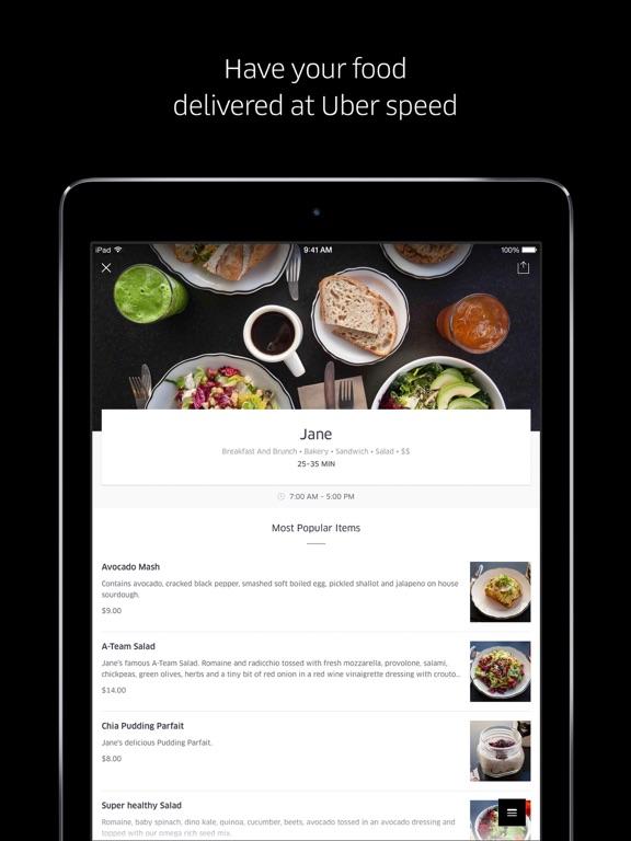 Uber Et Fast Food