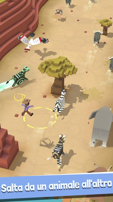 Screenshot of Rodeo Stampede: Sky Zoo Safari3