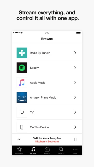 Sonos Ipad App    No Room Settings