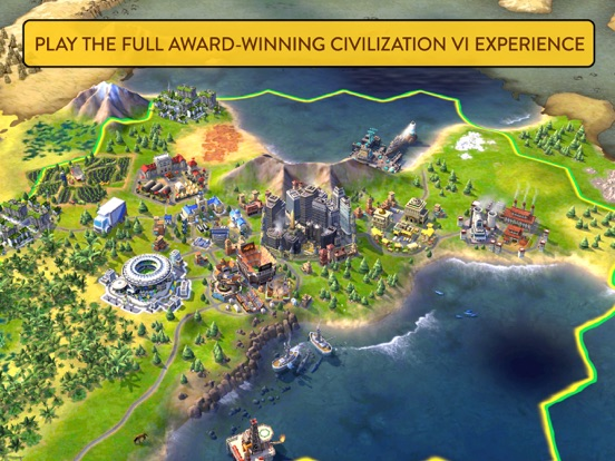 Sid Meier's Civilization® VI iOS Screenshots