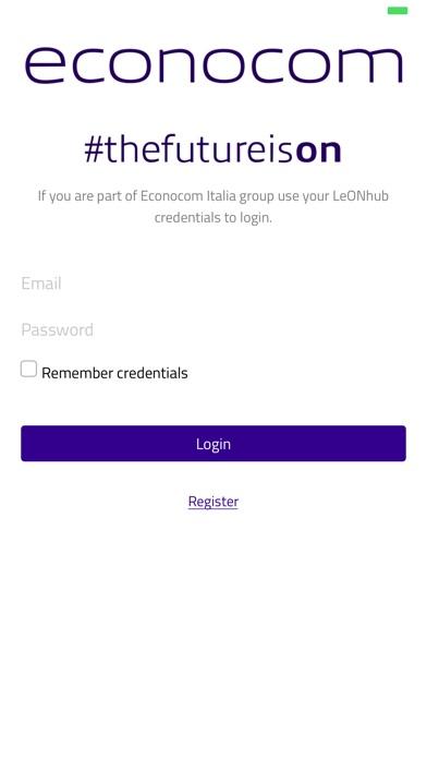 Screenshot of Econocom Italia2
