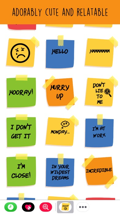 Sticky Note Life Stickers review screenshots