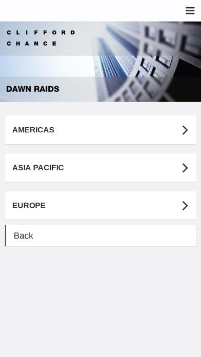 Clifford Chance - Dawn RaidCapture d'écran de 1