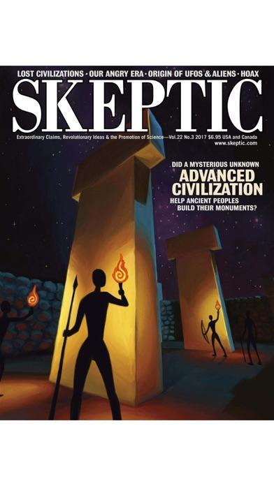 Skeptic Magazine review screenshots
