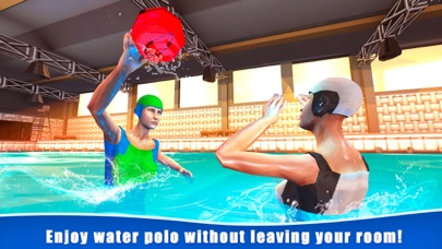 Water Polo Swimming Sports 3D screenshot 1