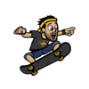 Team 10 Inc. - Hit Skater: Team 10  artwork