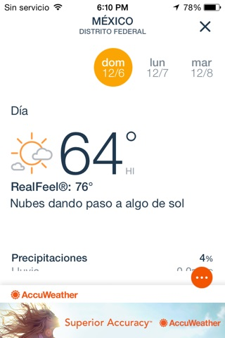 AccuWeather: Weather Tracker screenshot 2